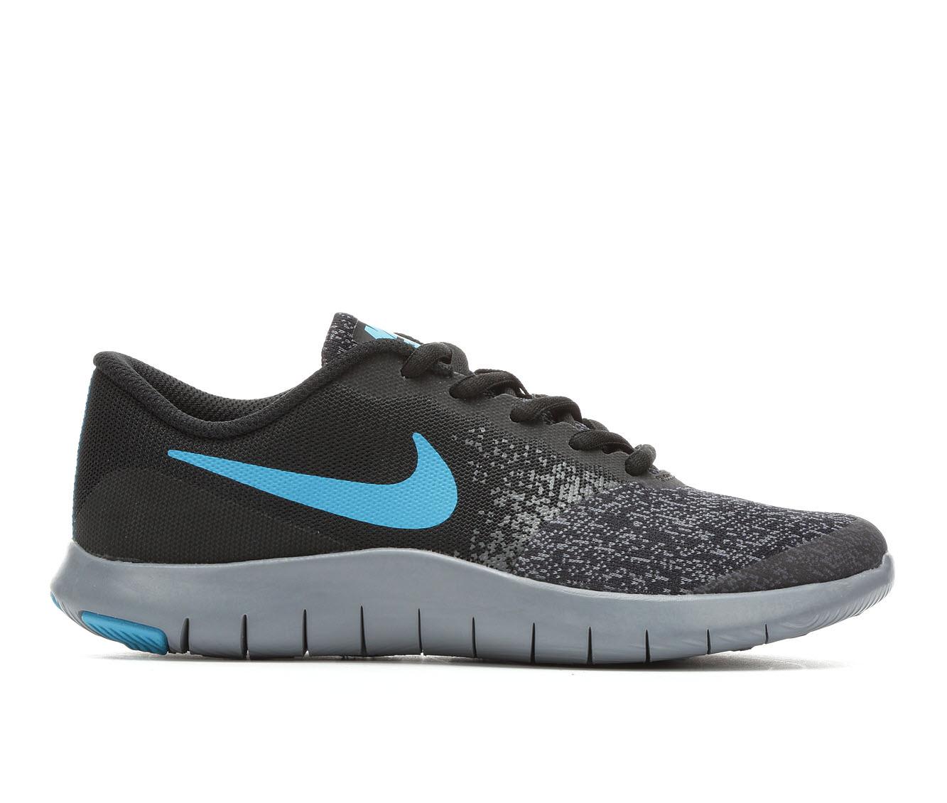 Boys' Nike Flex Contact Running Shoes (Black - Size 5.5 - Big Kid) 1737950
