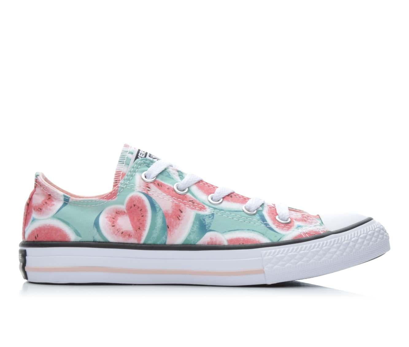 Girls' Converse Chuck Taylor Ox Basketball Shoes (Pink)