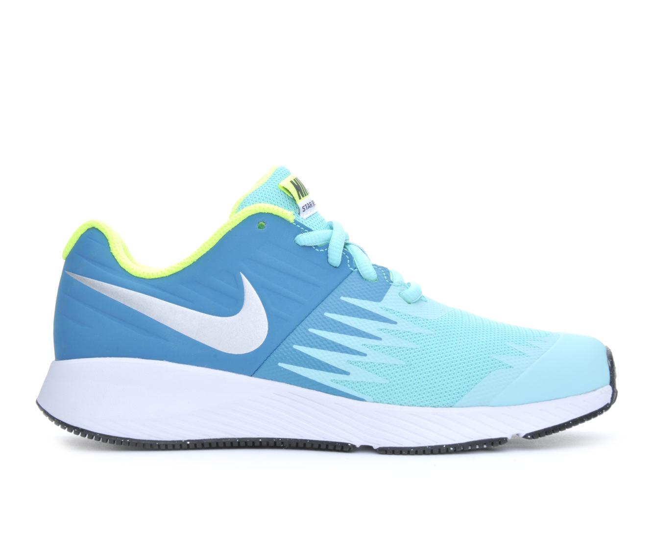 Girls' Nike Star Runner Running Shoes (Blue)