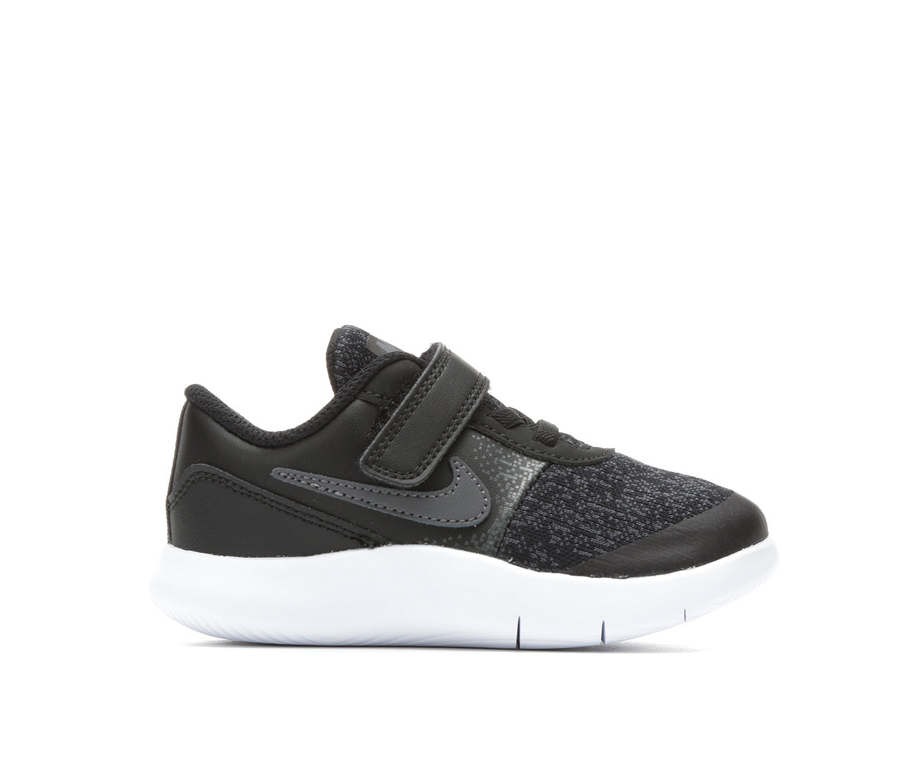 Boys' Nike Infant Flex Contact Velcro Running Shoes (Black)