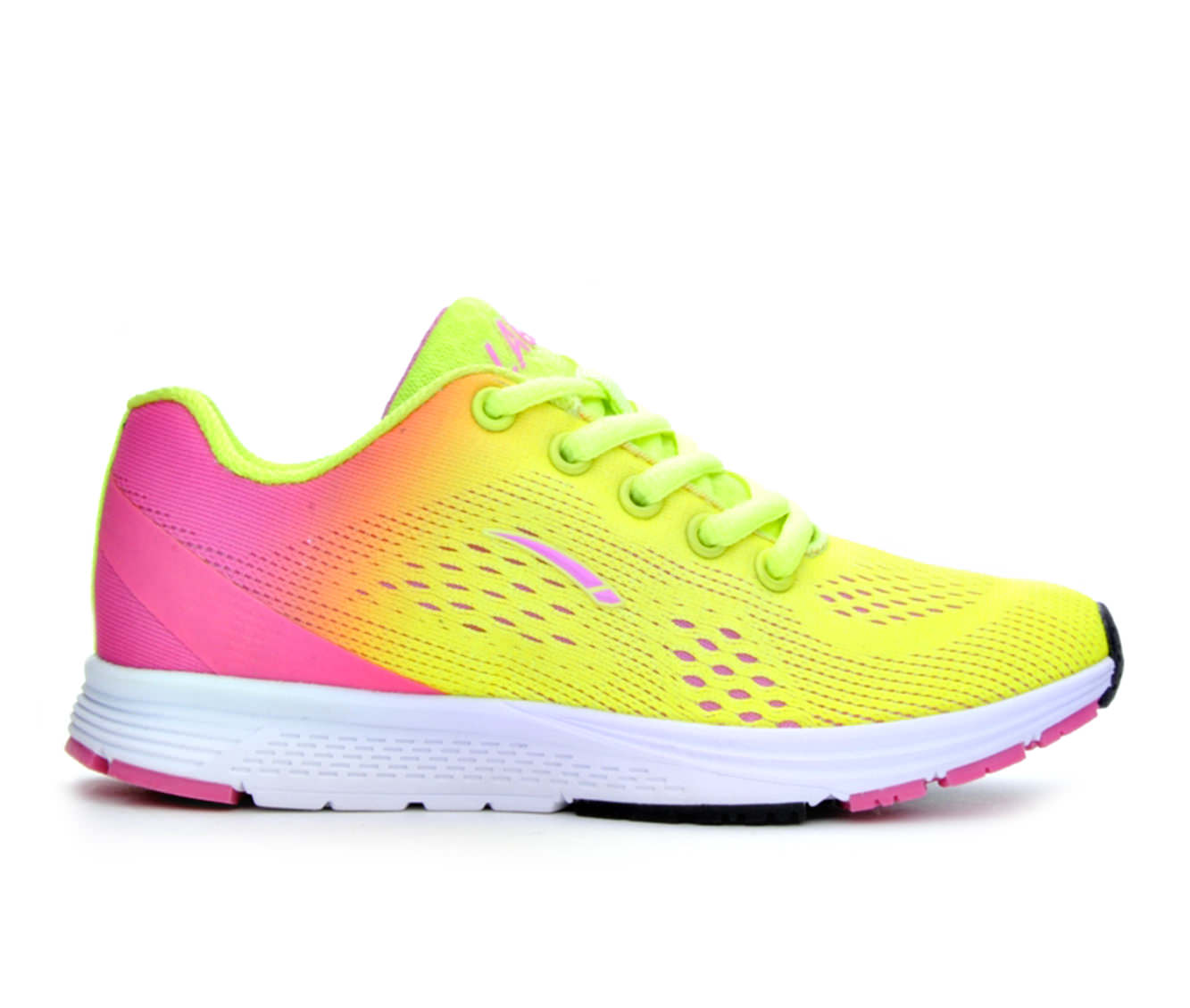 Girls' L.A. Gear Game Running Shoes (Yellow)