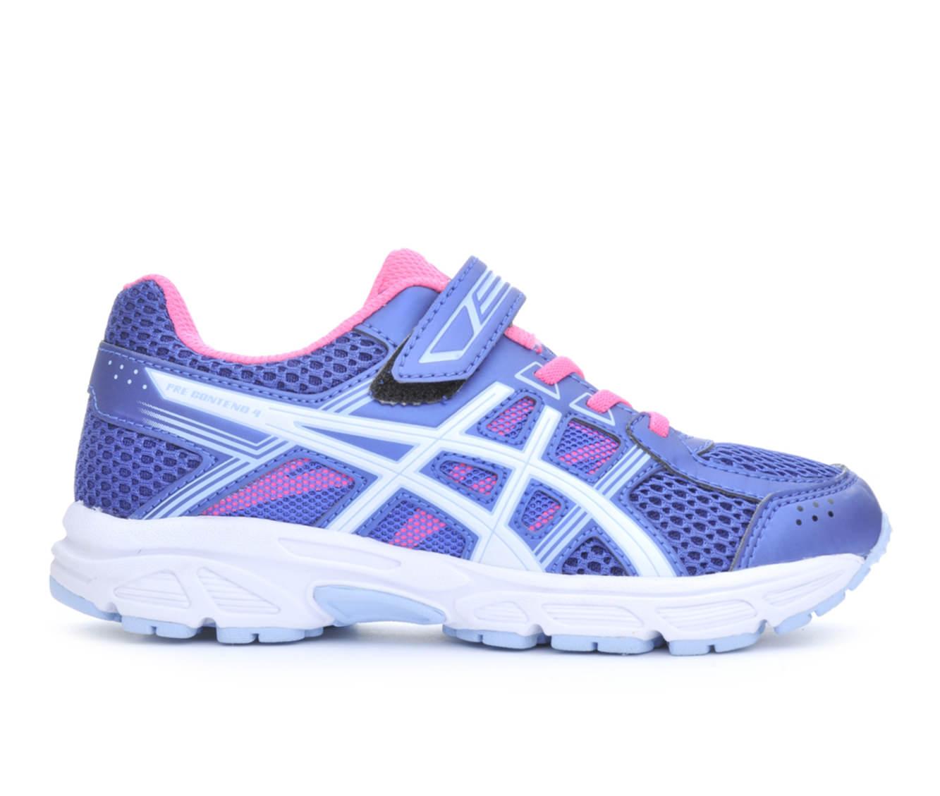 Girls' ASICS Pre Contend 4 Running Shoes (Blue)