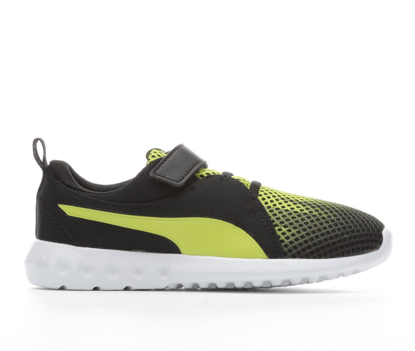 Boys' Puma Carson 2 Oxidized Velcro Running Shoes (Black)