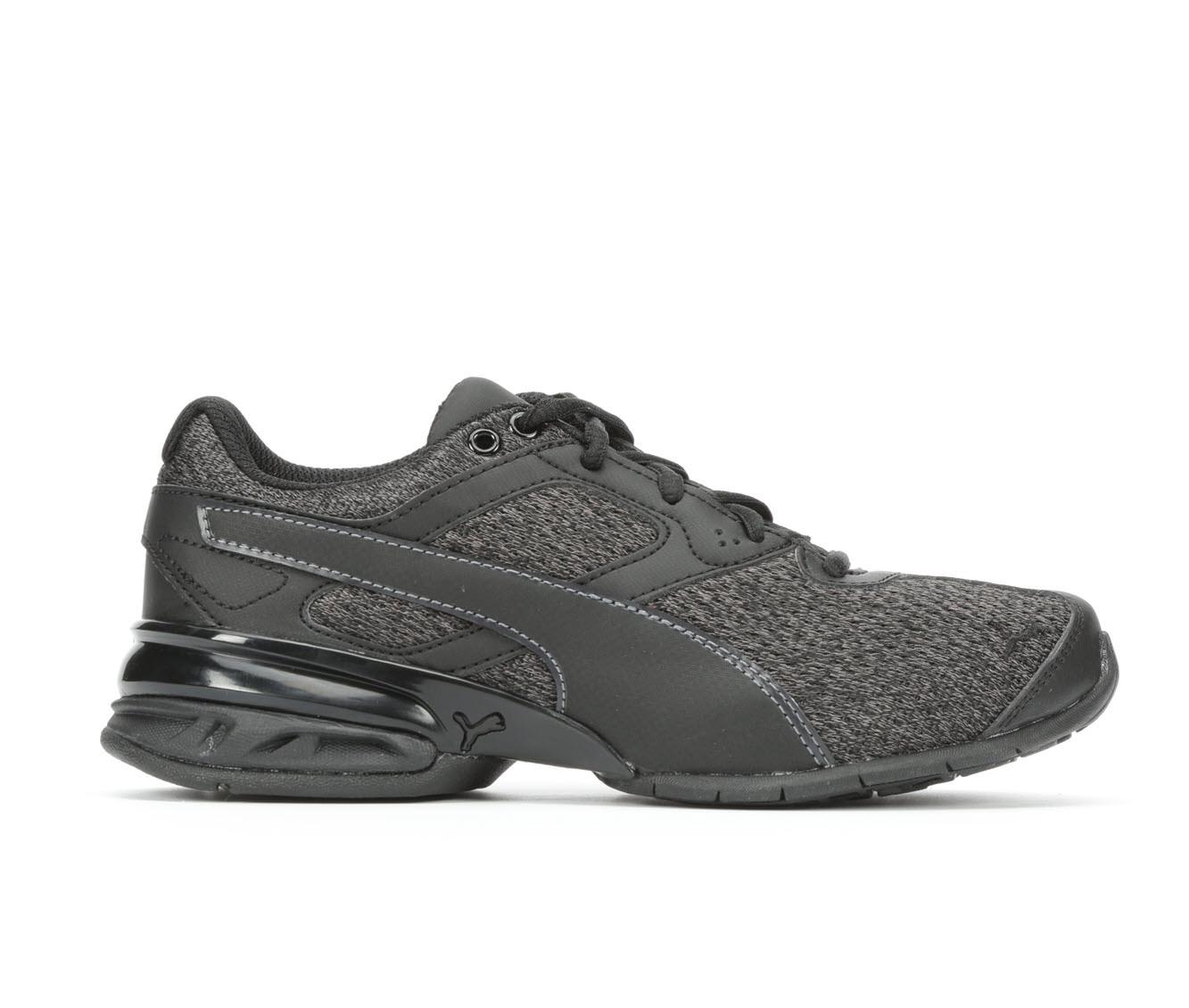 Boys' Puma Tazon 6 Knit Running Shoes (Black)
