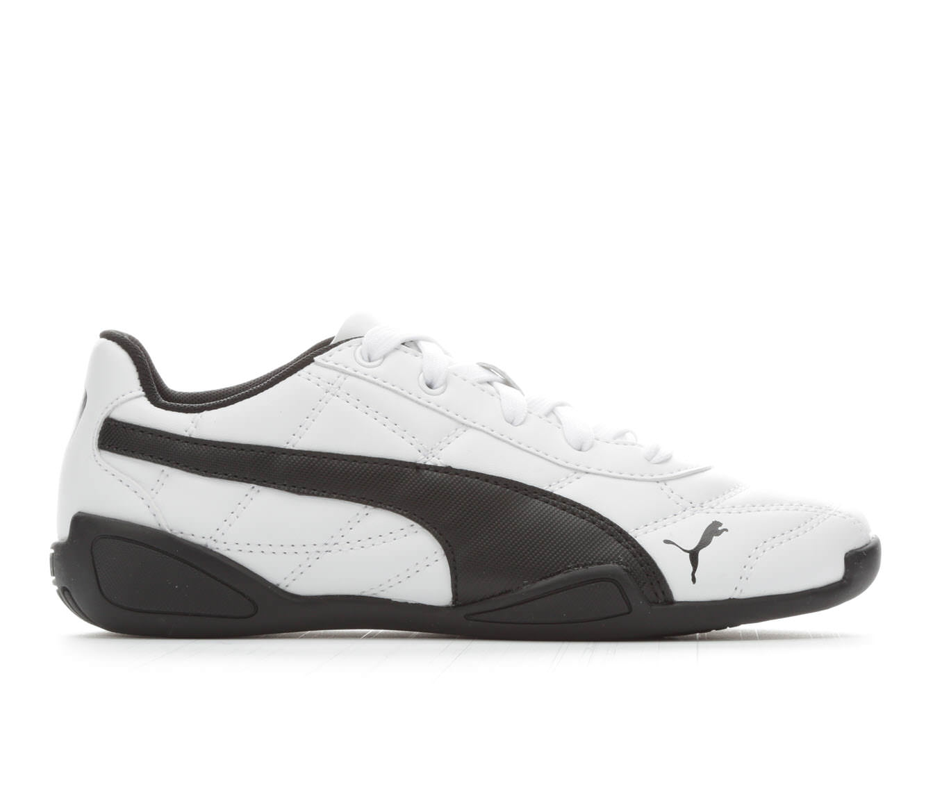 Girls' Puma Tune Cat 3 Sneakers (White)