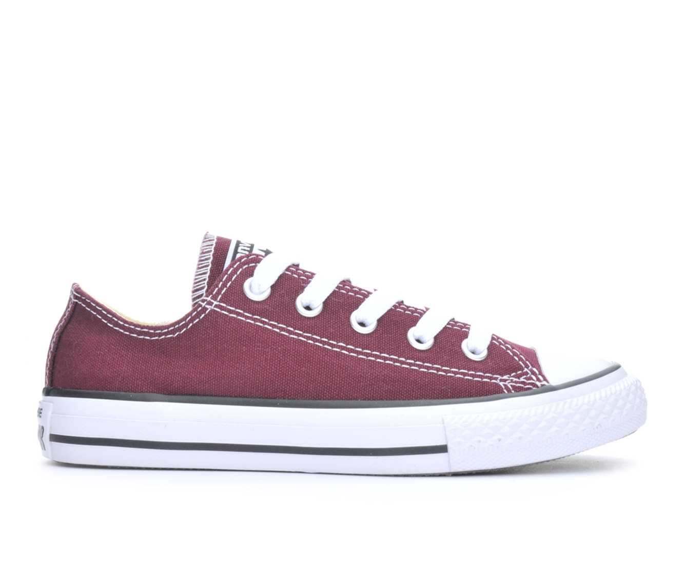 Girls' Converse Chuck Taylor All Star Seasonal Ox Sneakers (Red)