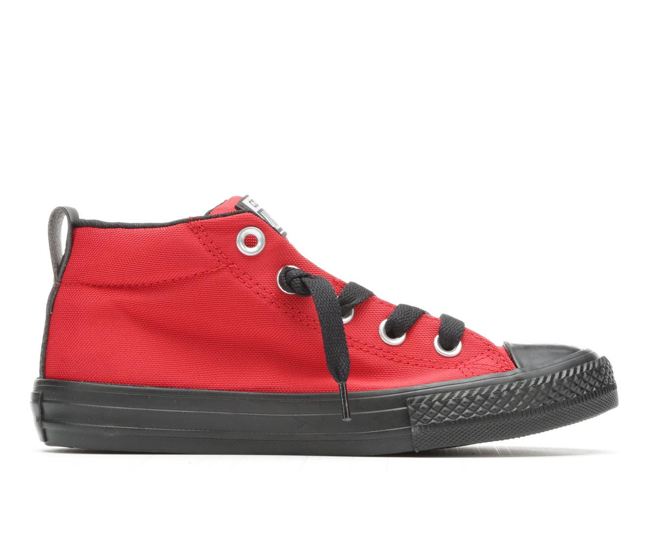 Boys' Converse CTAS Street Mid Backpack Sneakers (Red)