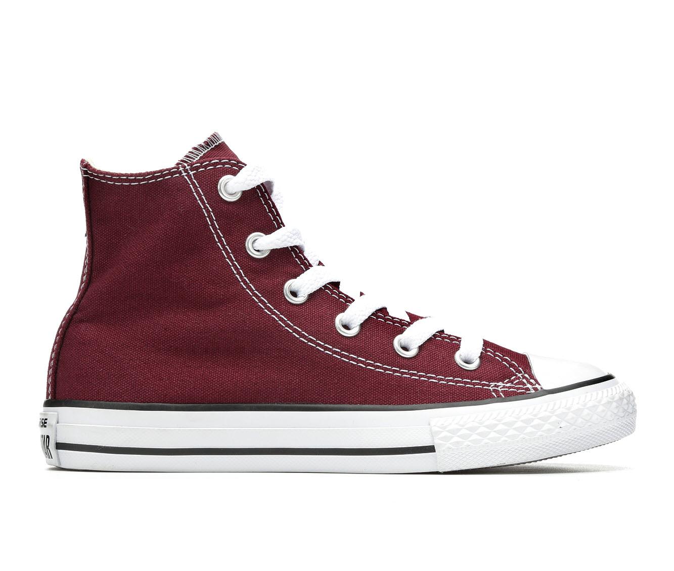 Girls' Converse CTAS Seasonal Hi Sneakers (Red)