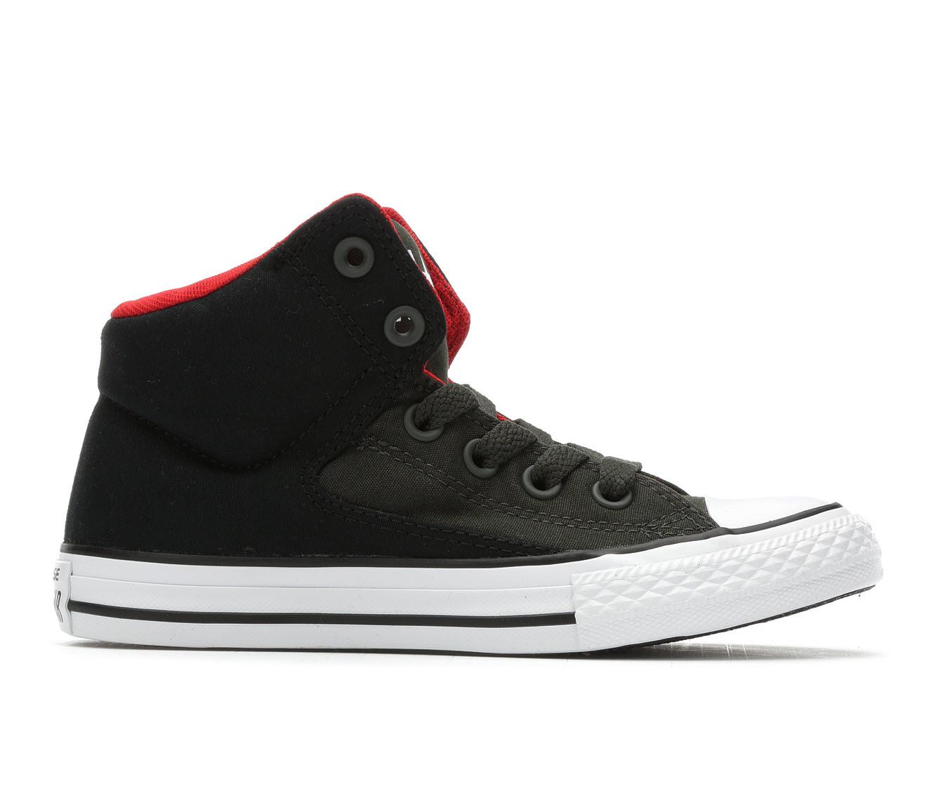 Boys' Converse CTAS HI Street Sneakers (Green)