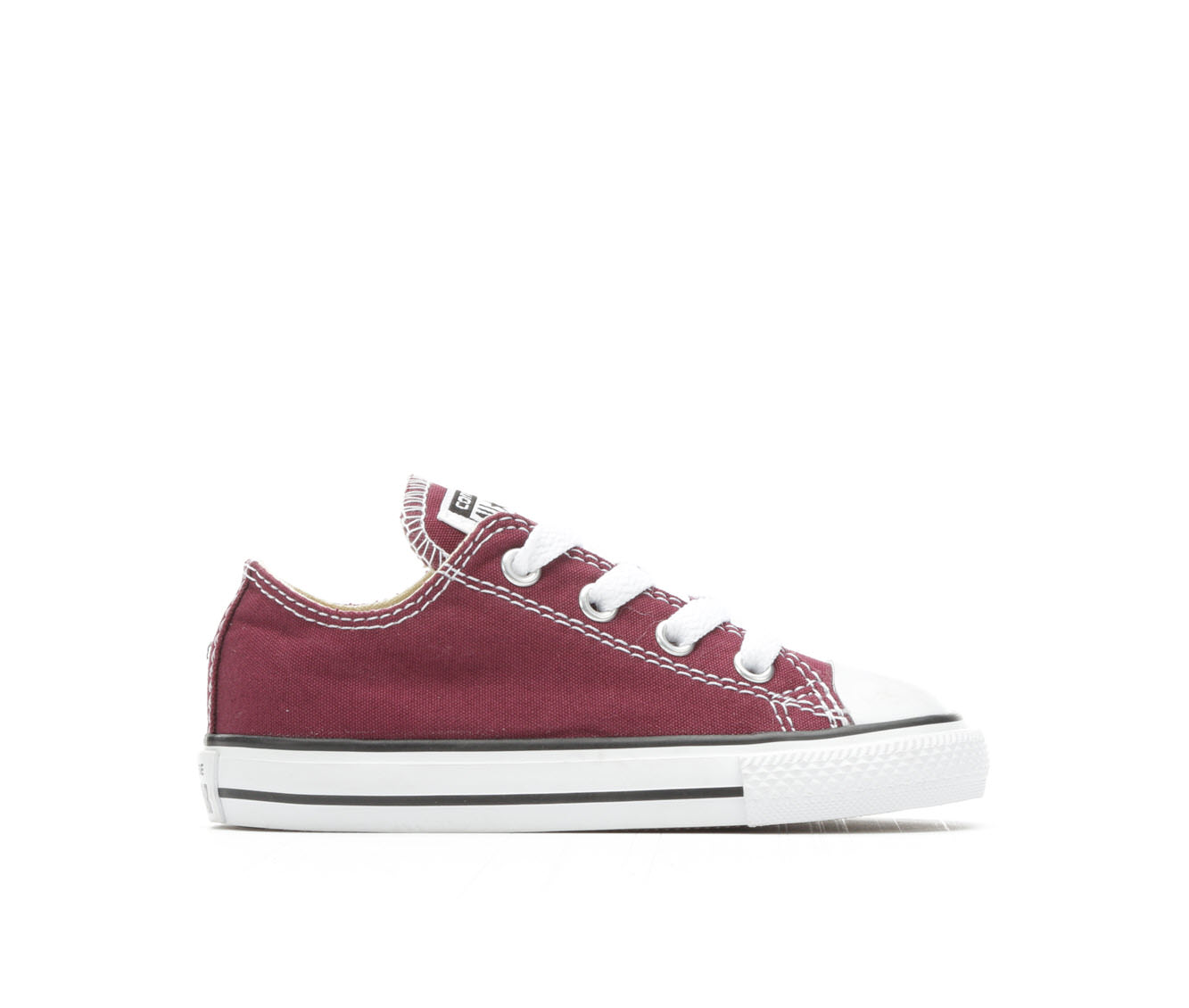 Girls' Converse Infant CTAS Seasonal Ox Sneakers (Red)