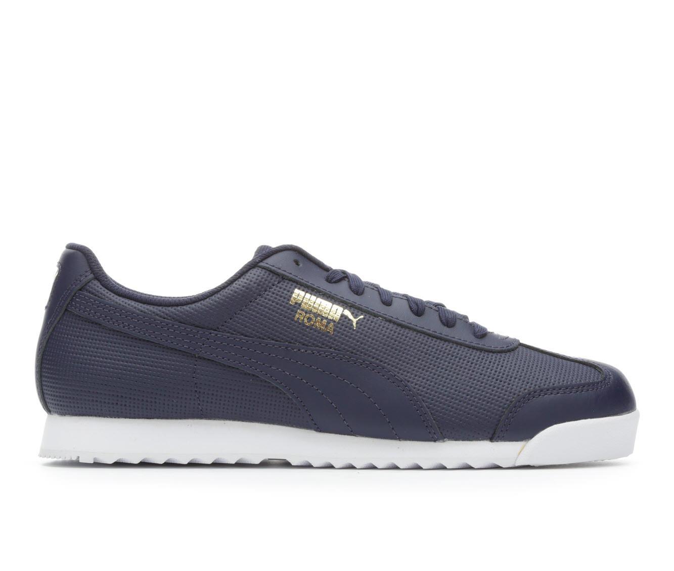 Men's Puma Roma Perf Sneakers (Blue - Size 9.5) 1660308