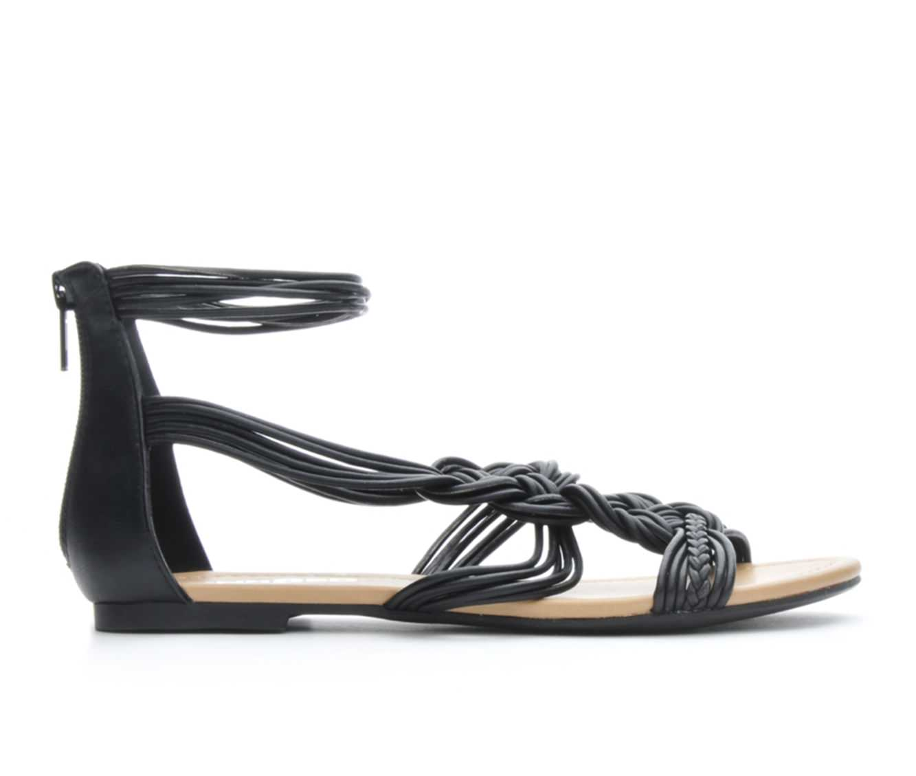 Women's Unr8ed Shina Sandals (Black)