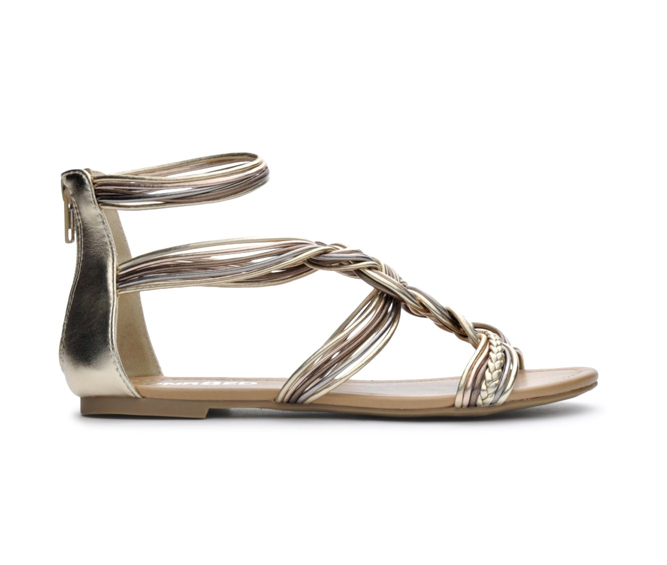 Women's Unr8ed Shina Sandals (Gold)