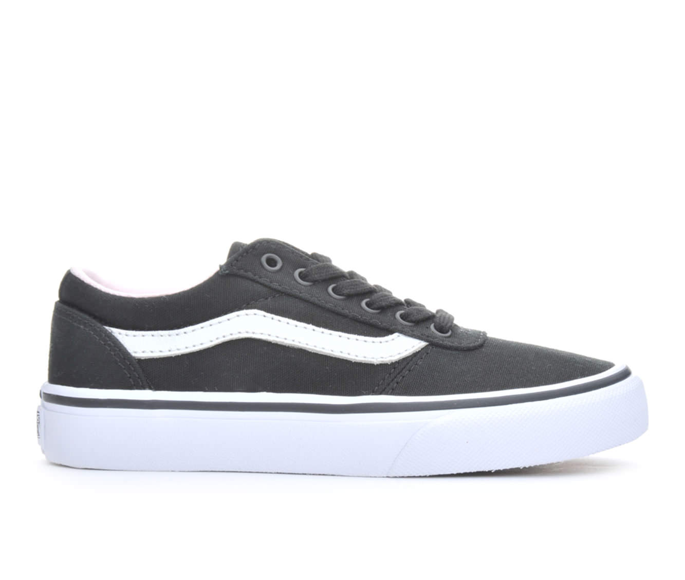 Girls' Vans Maddie Skate Shoes (Black)