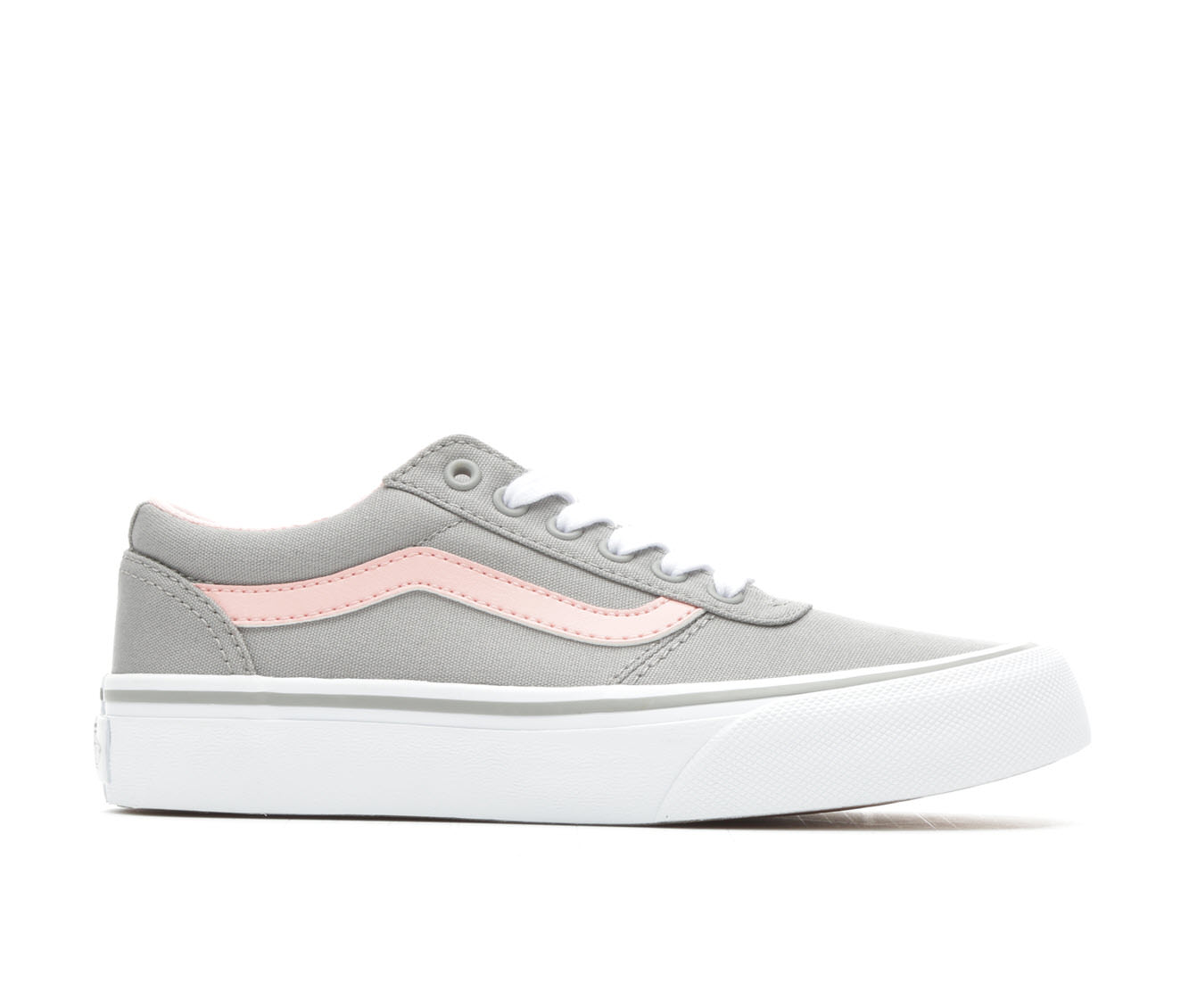Girls' Vans Maddie Skate Shoes (Grey)