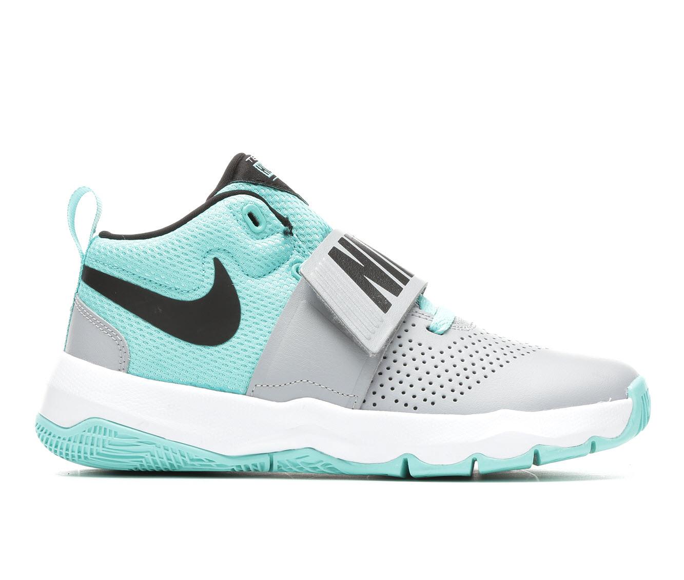 Girls' Nike Team Hustle D8 (Grey)