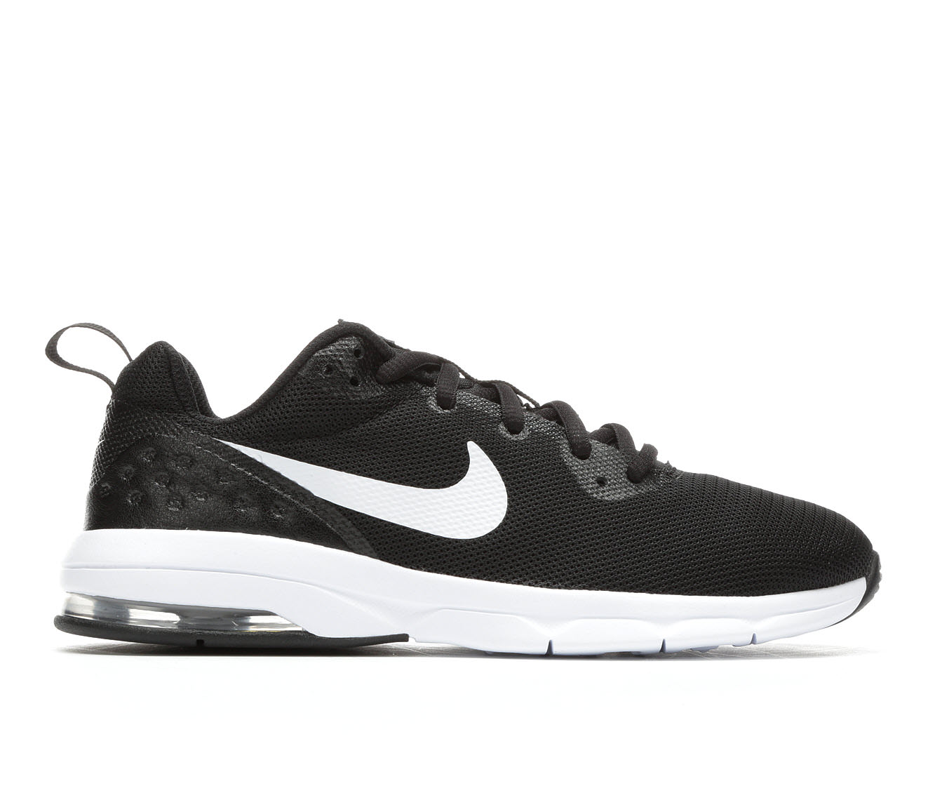 Boys' Nike Air Max Motion Low Running Shoes (Black)