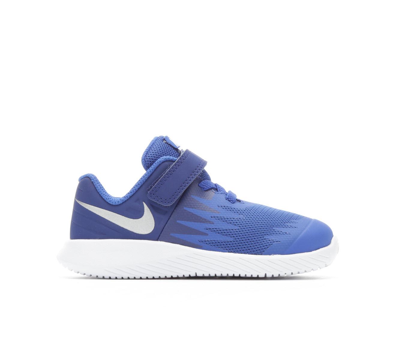 Boys' Nike Infant Star Runner Running Shoes (Blue)