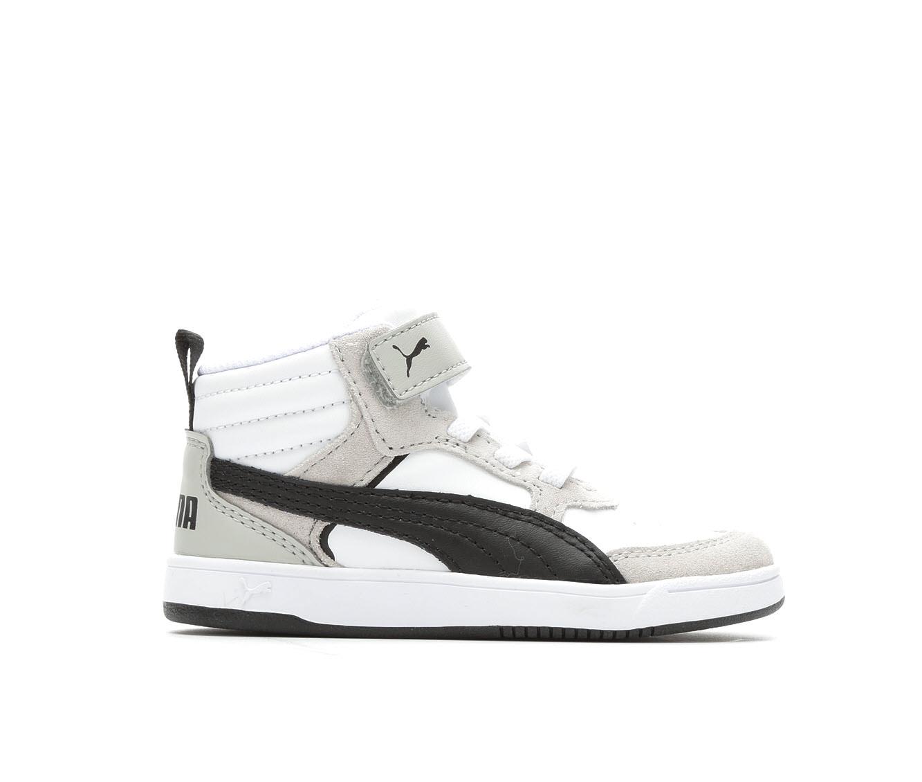 Boys' Puma Infant Rebound Street V2 V Sneakers (White)