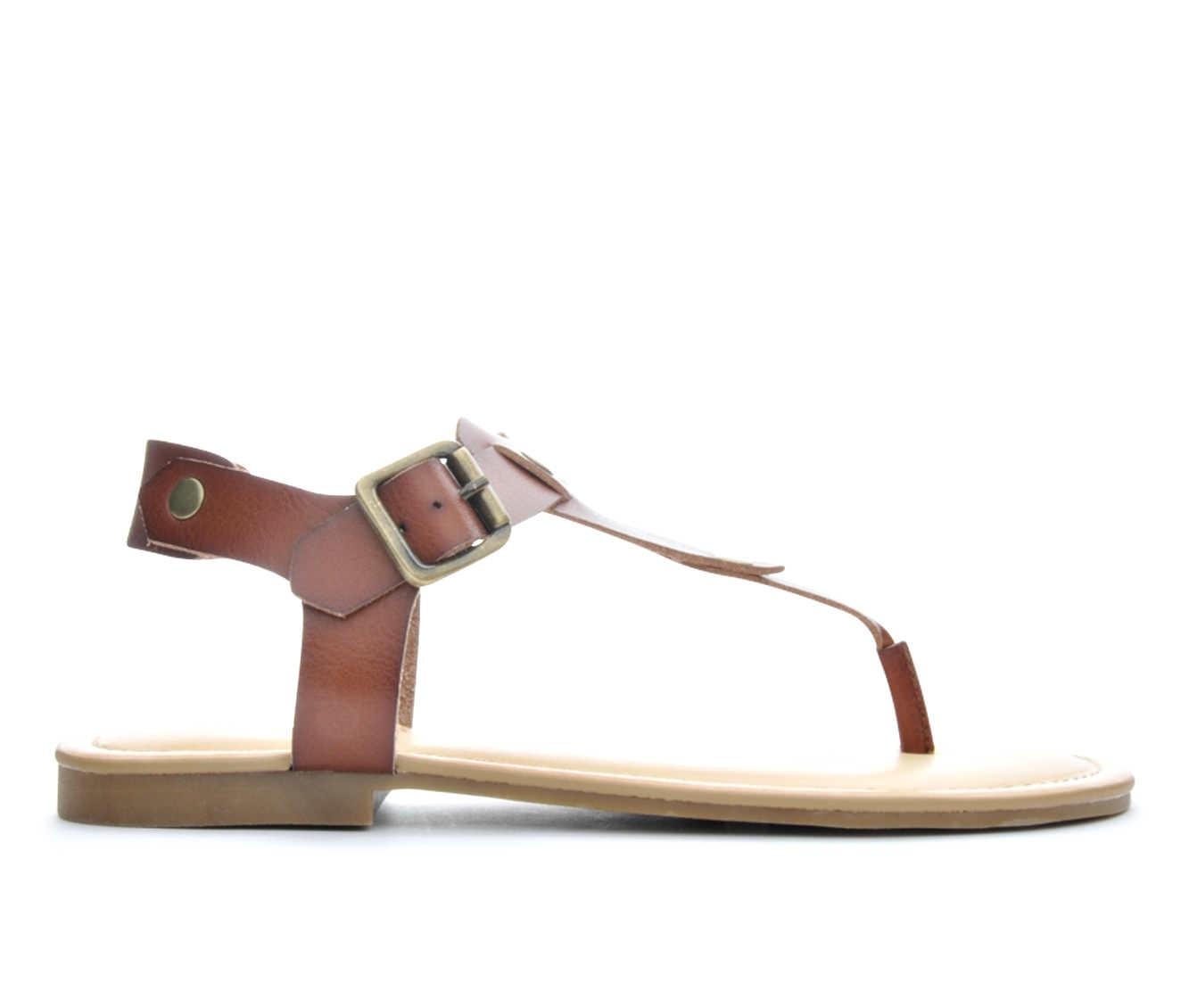 Women's Madden Girl Matcha Sandals (Brown)