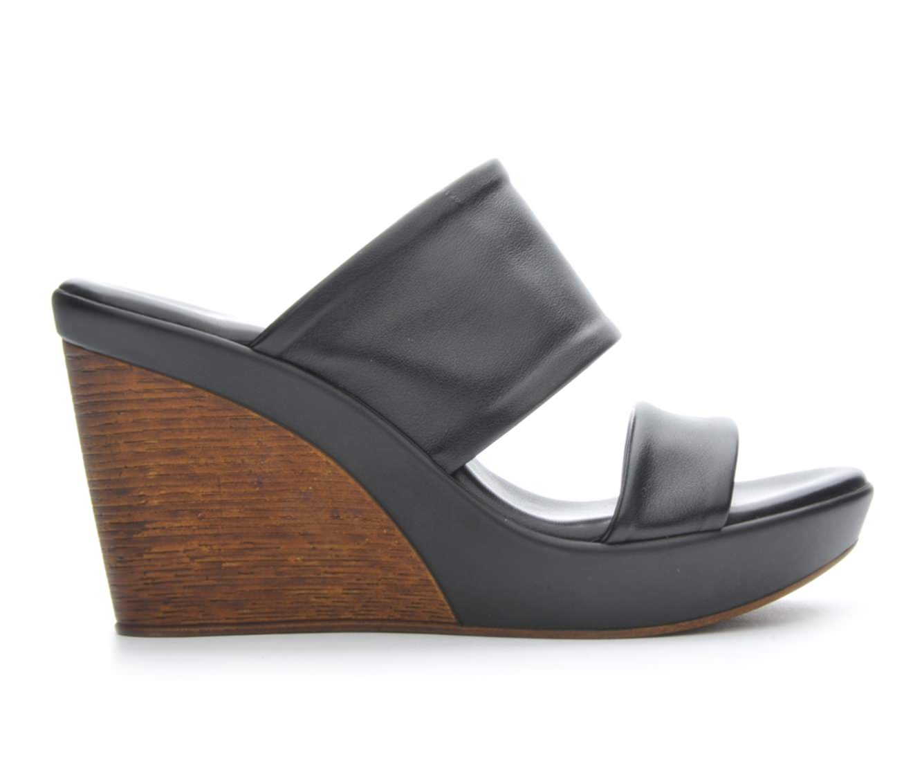 Women's Italian Shoemakers Brie Sandals (Black)