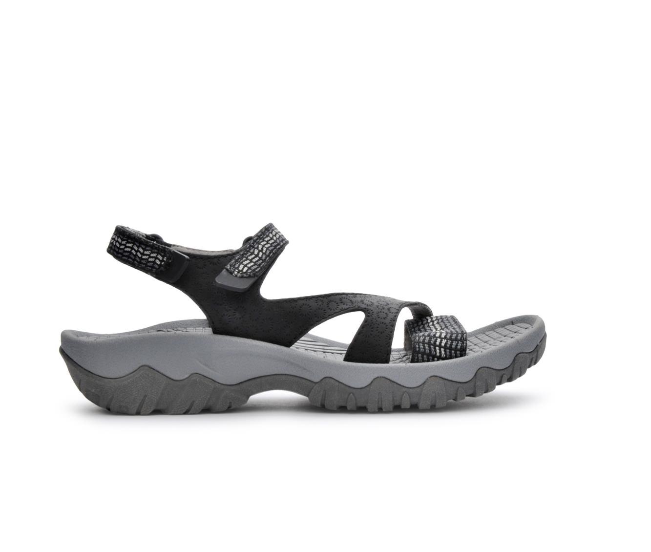 Women's BareTraps Tipper Sandals (Black)