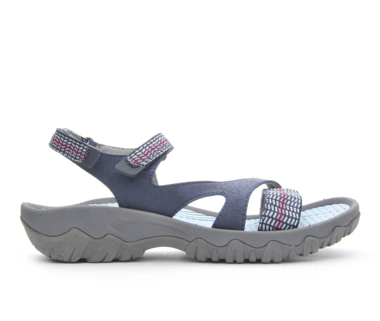 Women's BareTraps Tipper Sandals (Blue)