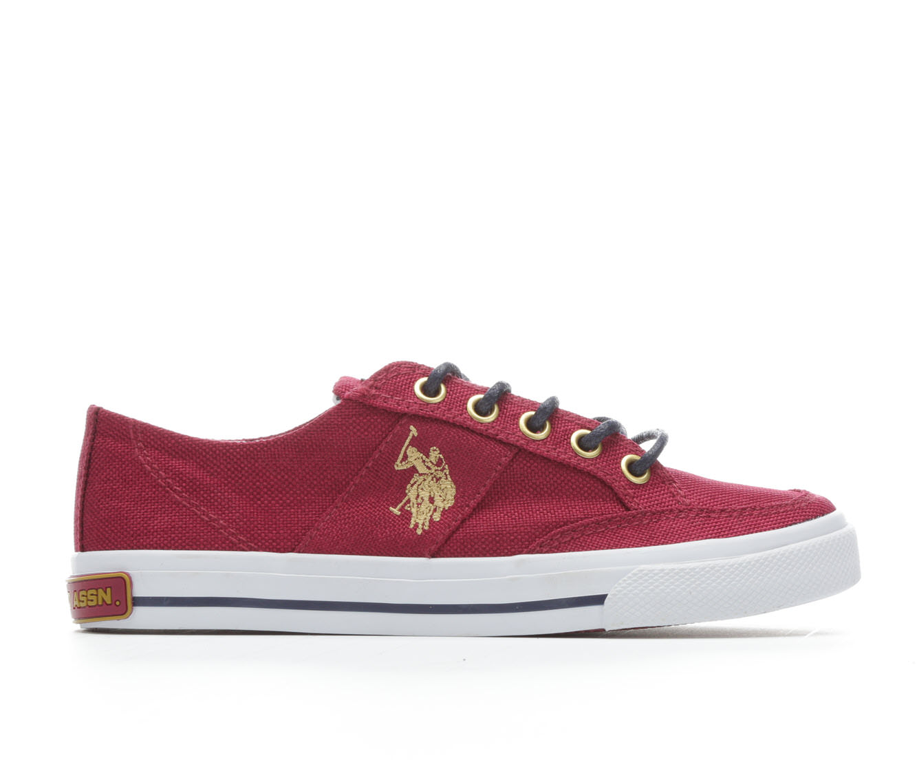 Girls' US Polo Assn Junee-LN Sneakers (Red)