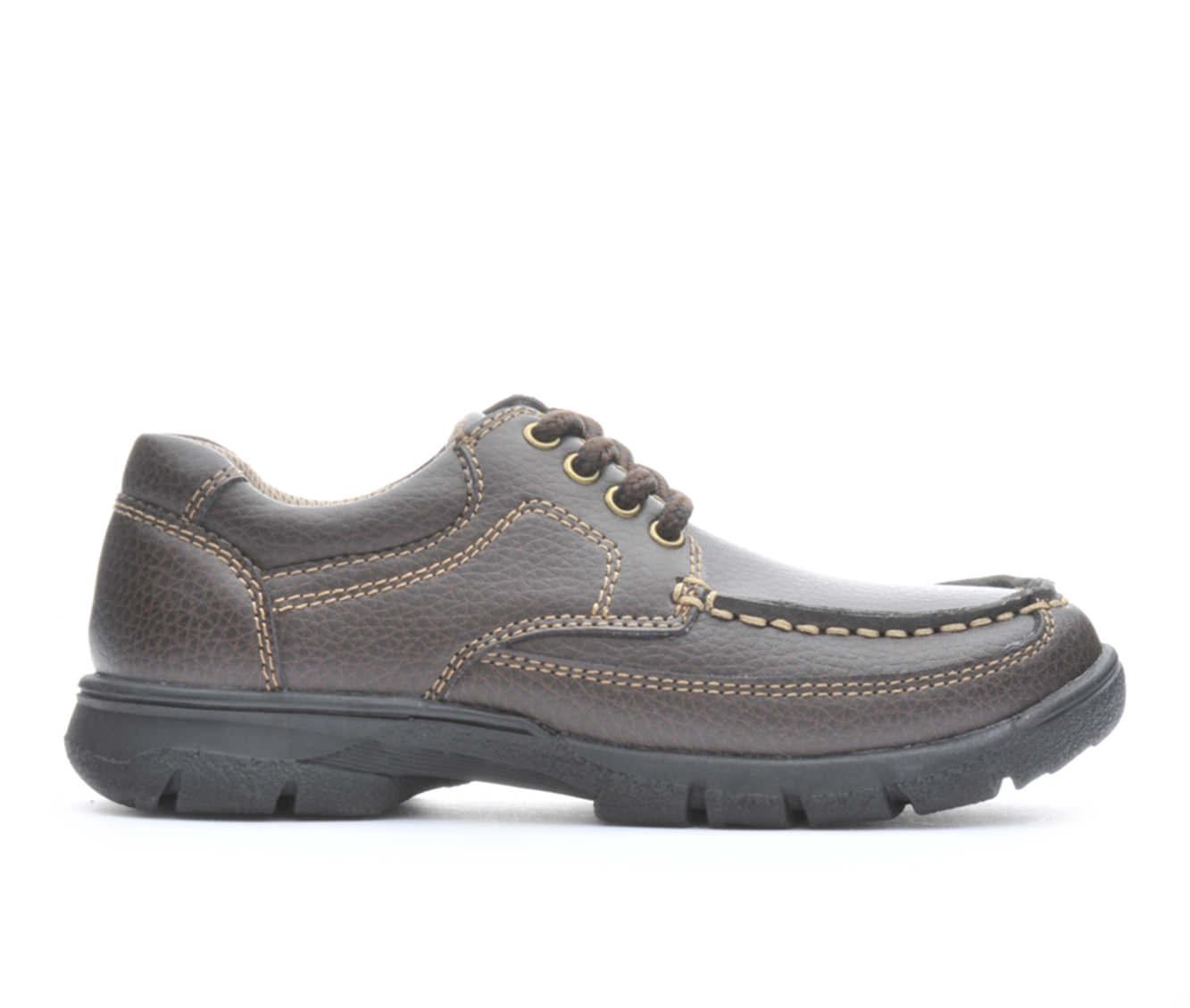 Boys' Madison Ave. Patrick Moc Toe Oxford Shoes (Brown)