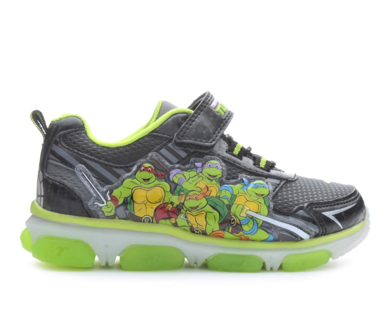 Boys' Nickelodeon TMNT Lighted 3 Sneakers (Black)