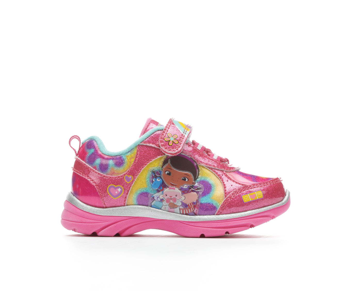 Girls' Disney Doc McStuffins Light-Up Sneakers (Pink)