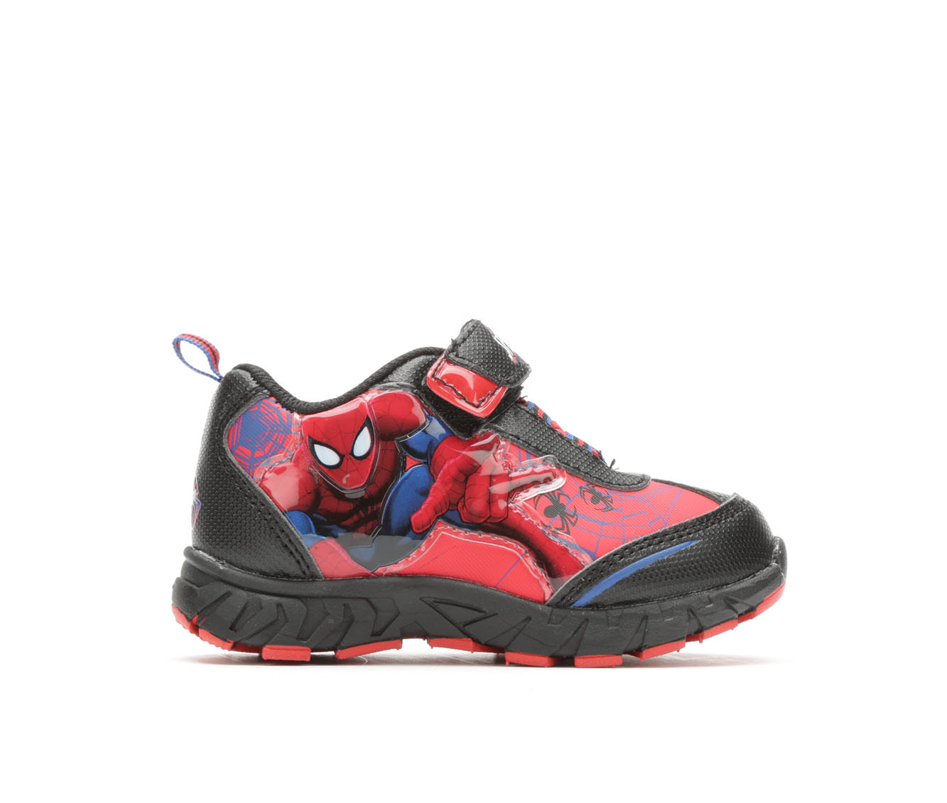 Boys' Marvel Spiderman Webs 3 Sneakers (Red - Size 10.5 - Little Kid) 1666151