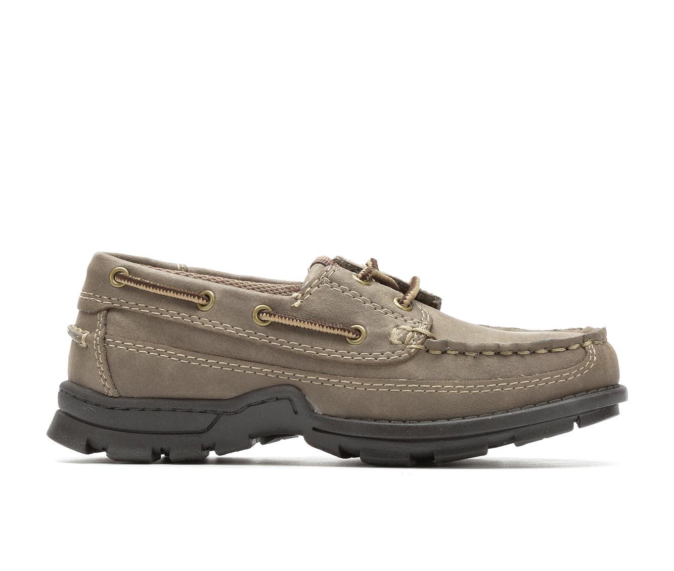 Boys' Madison Ave. Derrick Boat Shoes (Beige)