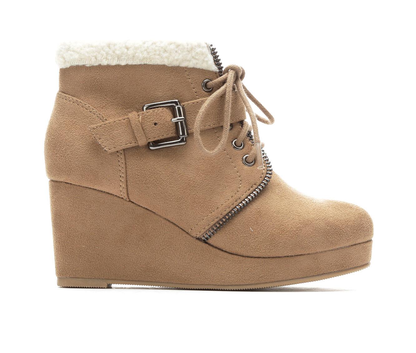 Girls' Unr8ed Belanie Boots (Beige)