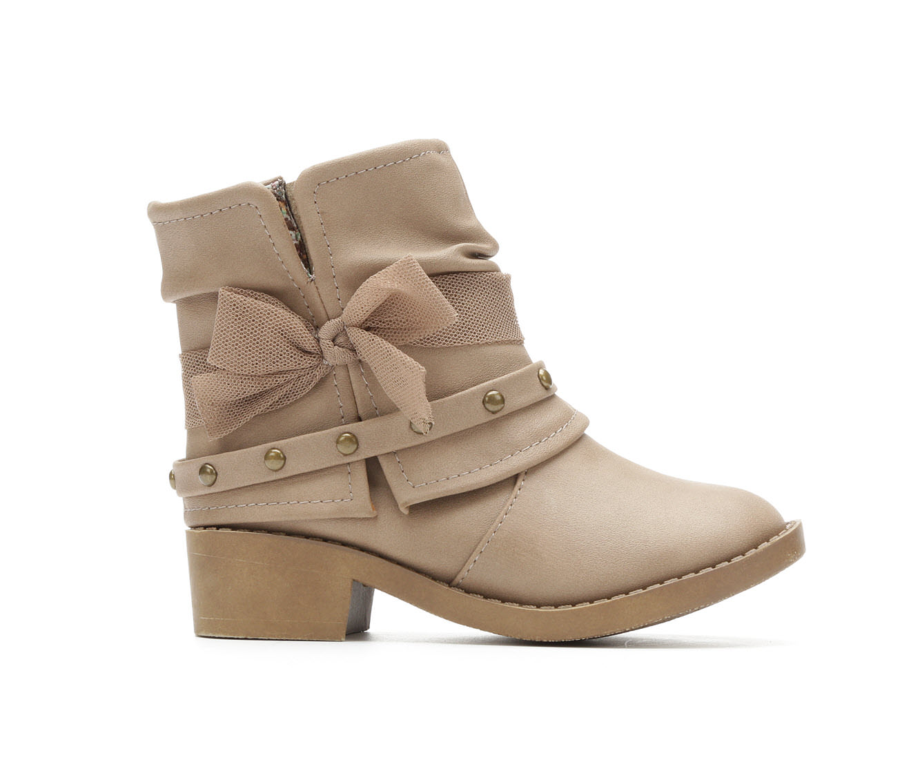 Girls' Y-Not Infant Paige Boots (Beige)