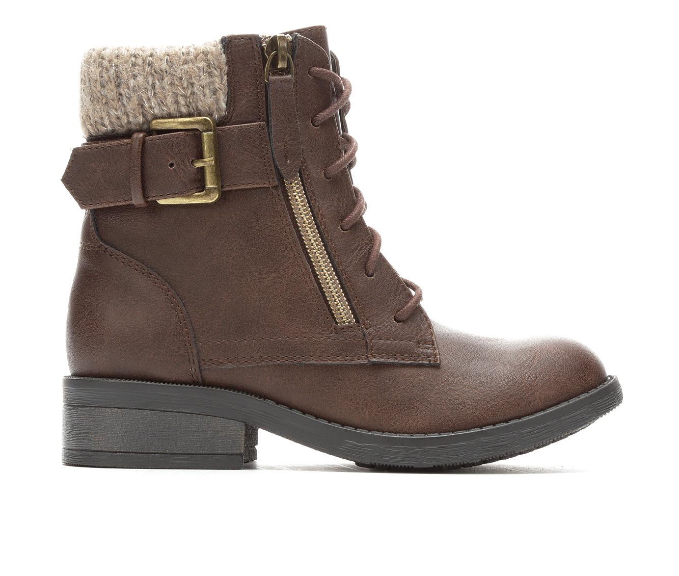 Girls' Steve Madden JRyan Block Heels (Brown)
