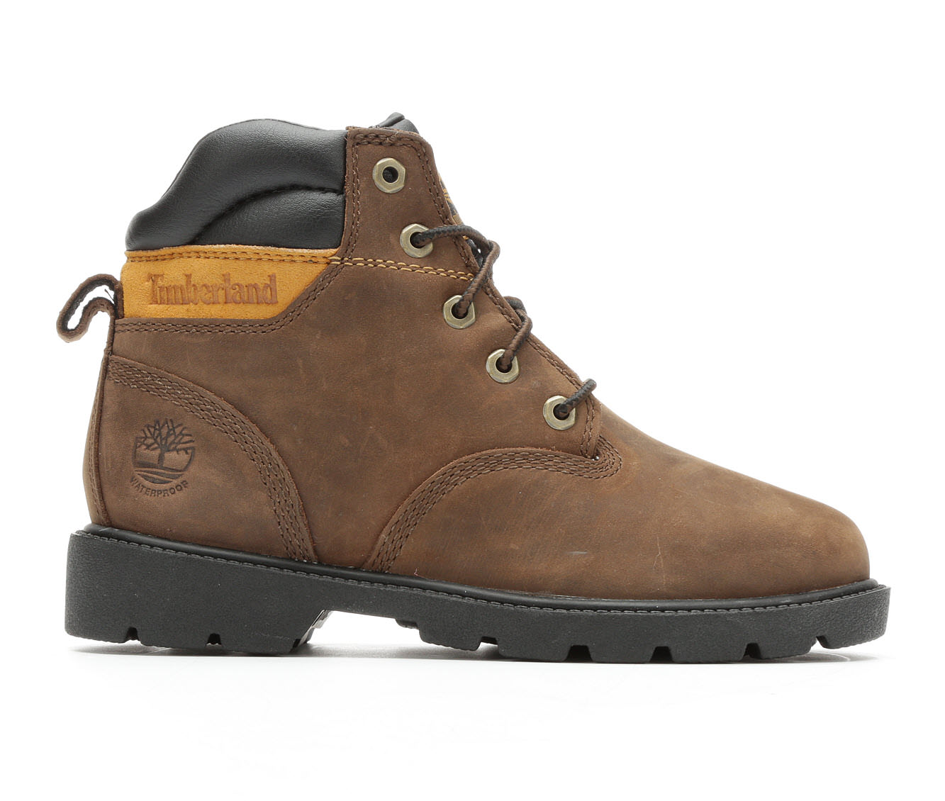 Boys' Timberland Leavitt Boots (Brown)