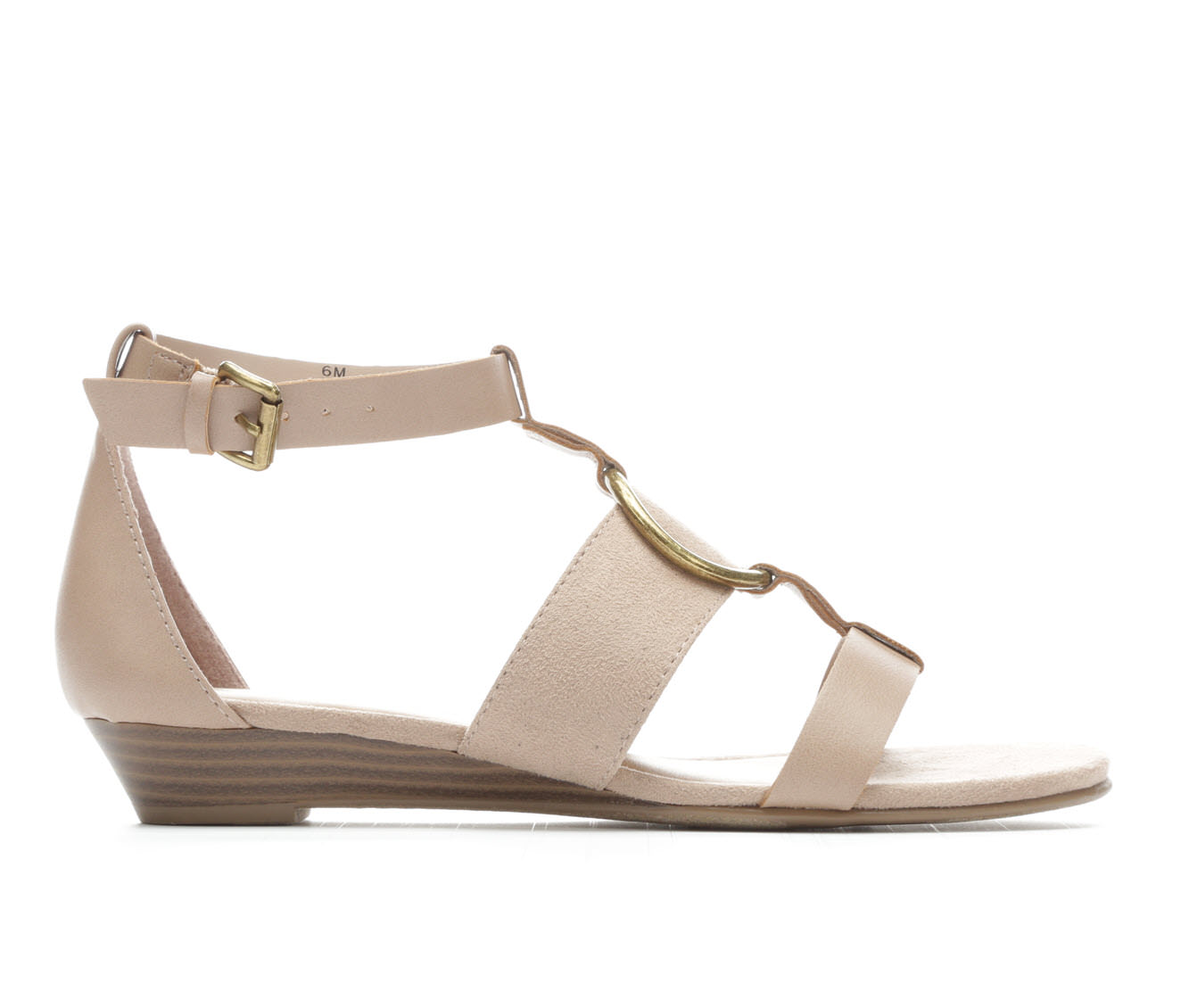 Women's Solanz Keli Wedge Sandals (Beige)
