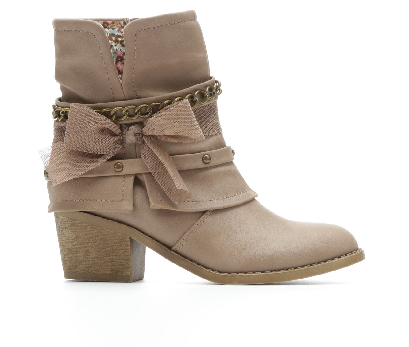 Girls' Y-Not Paige Boots (Beige)