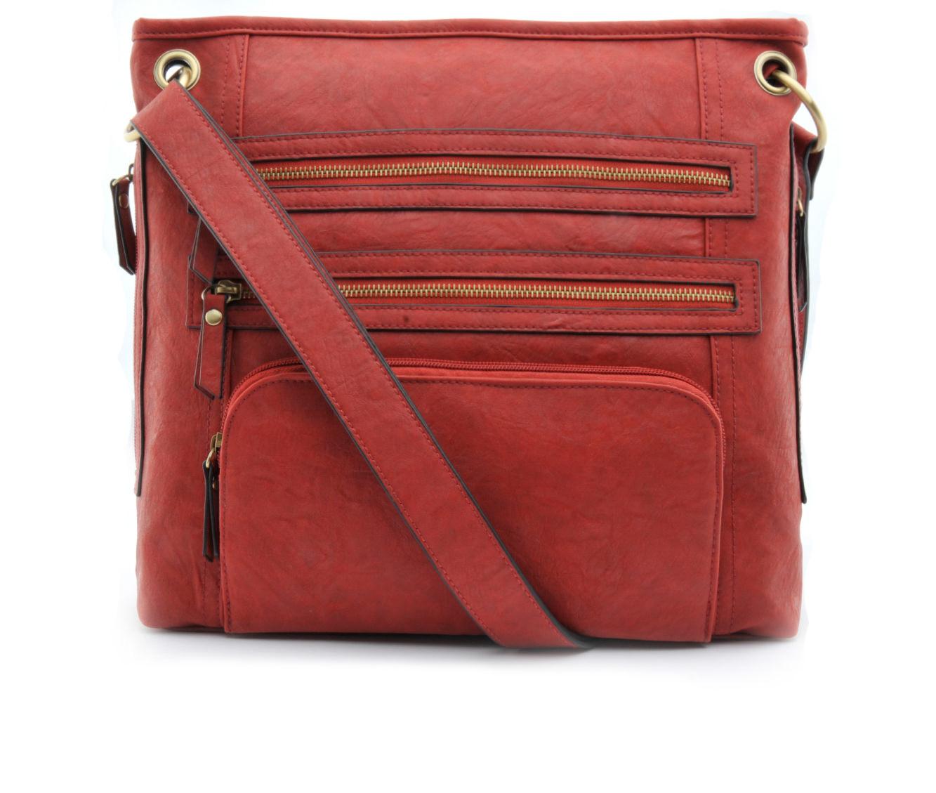 Image of Bueno Of California Large Crossbody Handbag (Red - Size UNSZ)