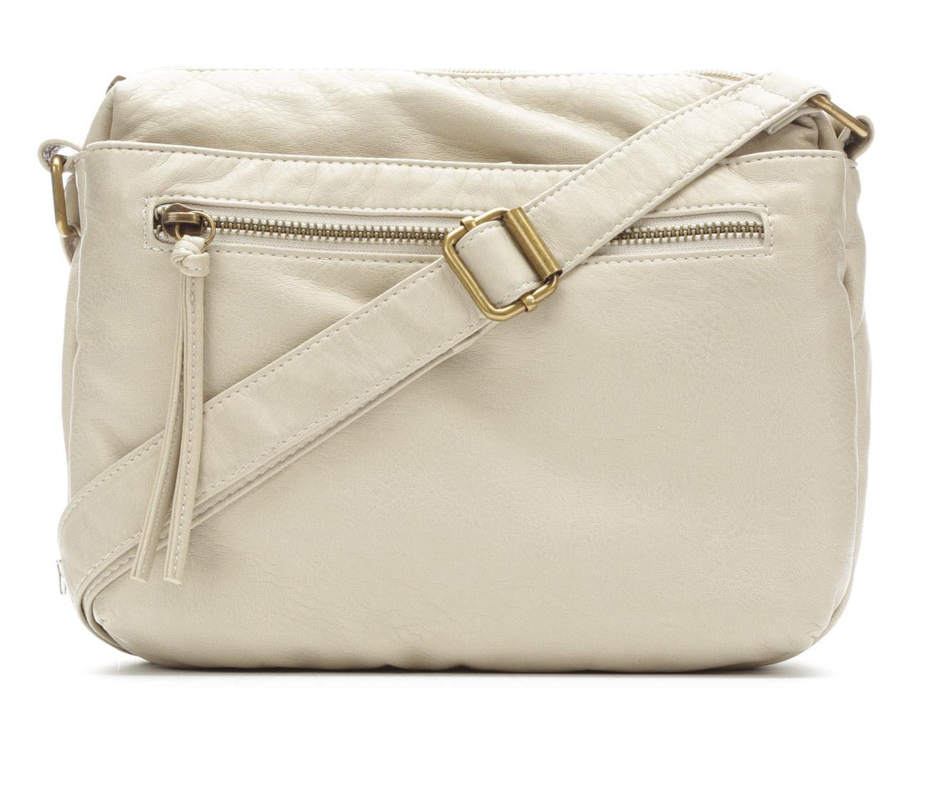 Bueno Of California Mini Crossbody Handbag (White)