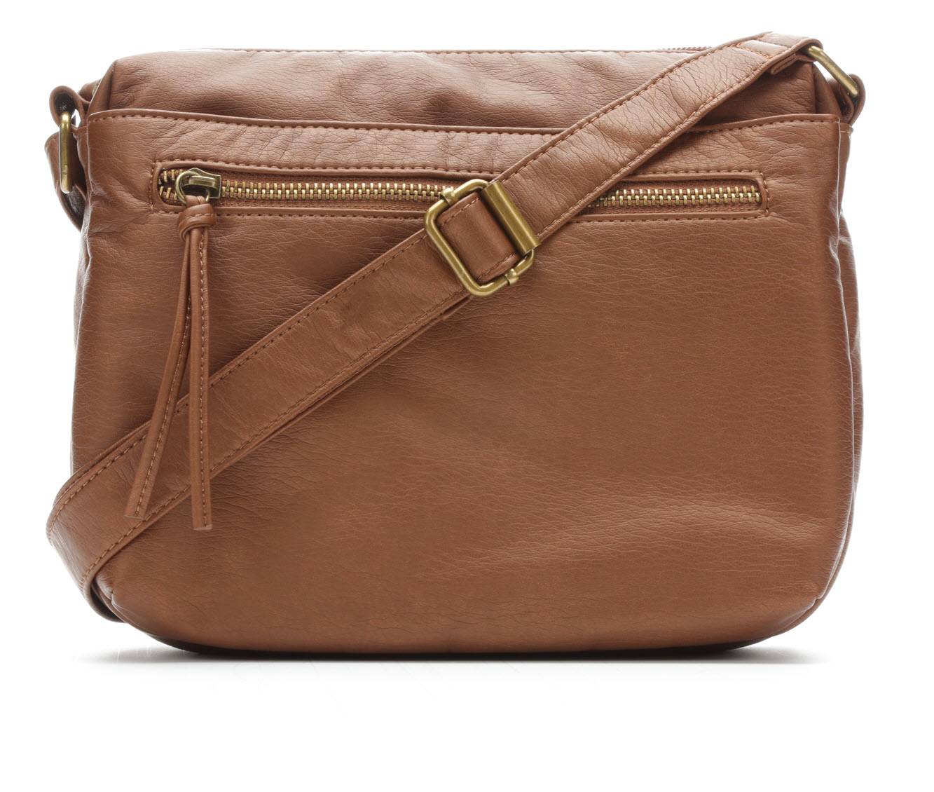 Bueno Of California Mini Crossbody Handbag (Gold)