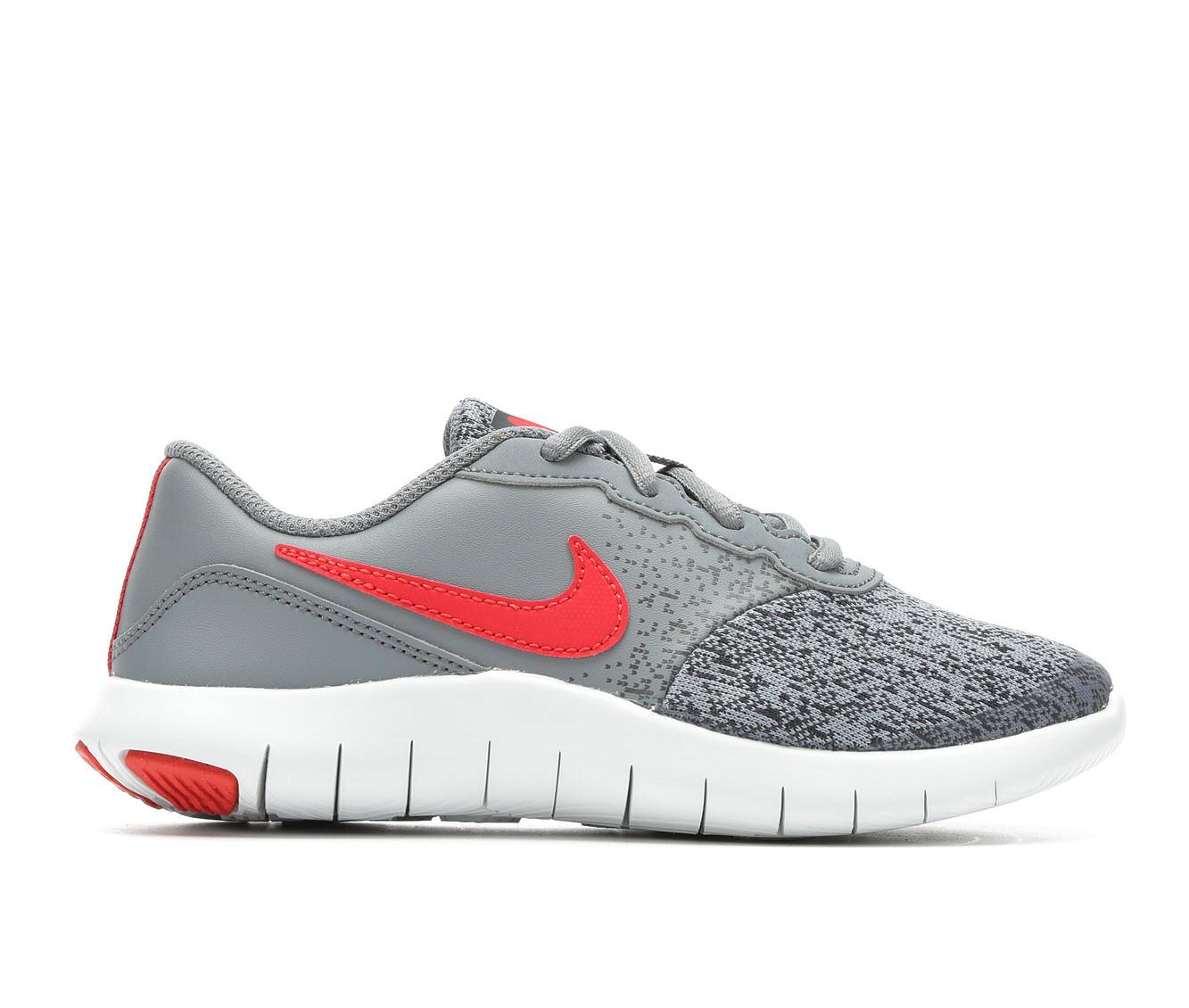 Boys' Nike Flex Contact Running Shoes (Grey)