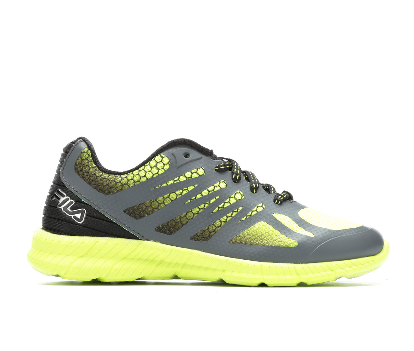 Boys' Fila Speedstride Running Shoes (Yellow)