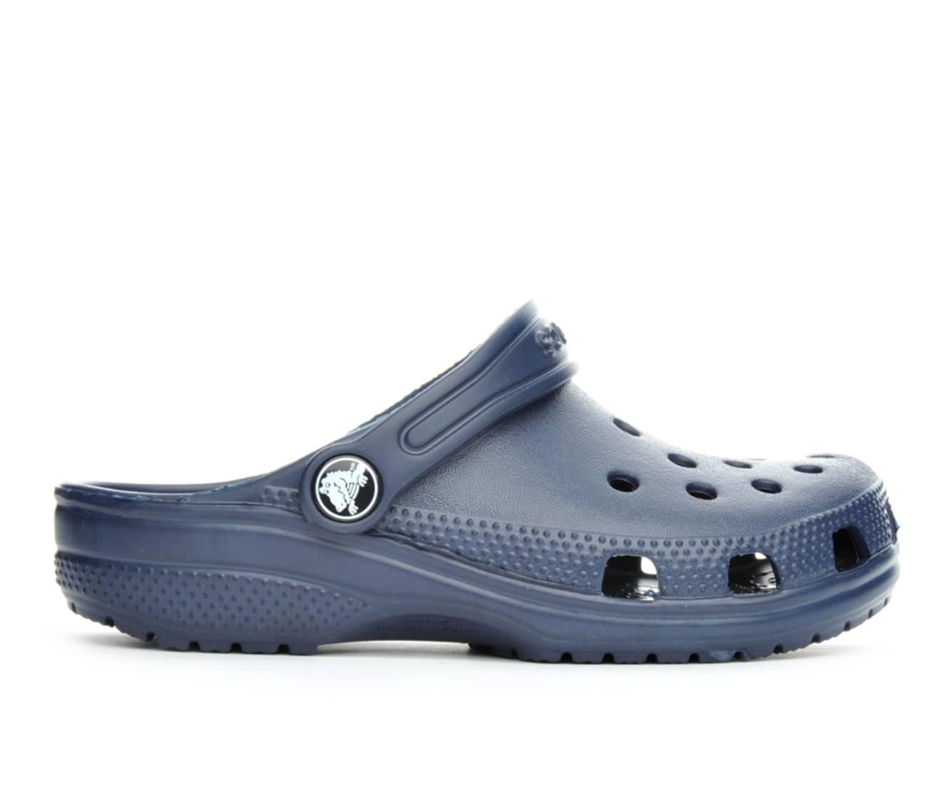 Girls' Crocs Classic Clog Children's Shoes (Blue)