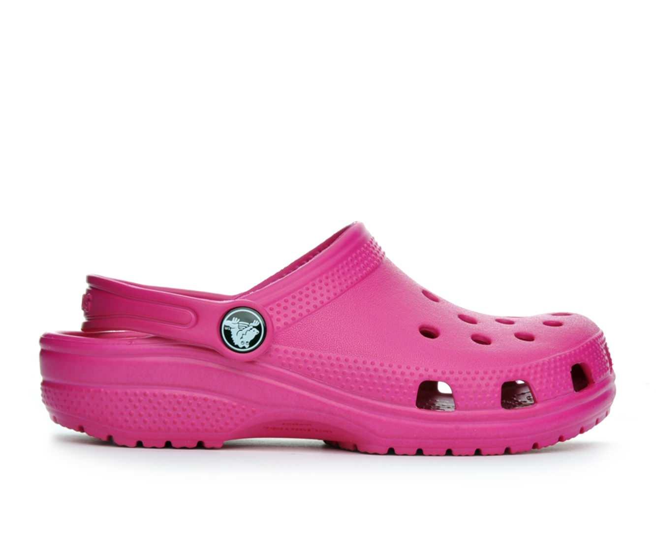 Girls' Crocs Classic Clog Children's Shoes (Pink)