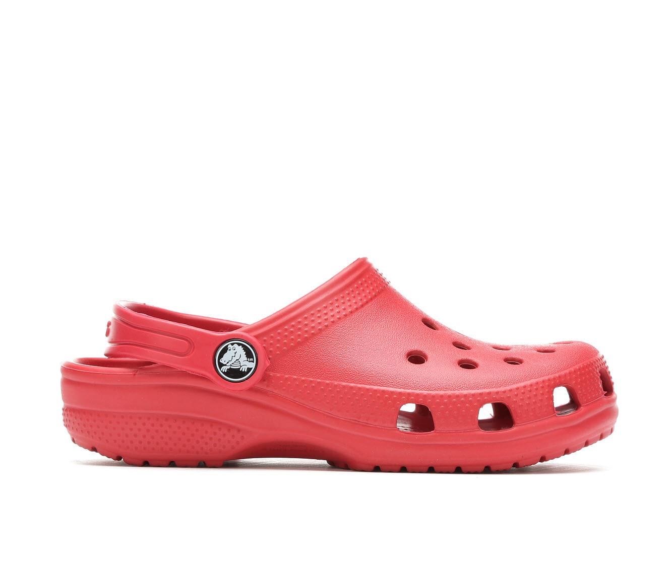 Girls' Crocs Classic Clog Children's Shoes (Red)