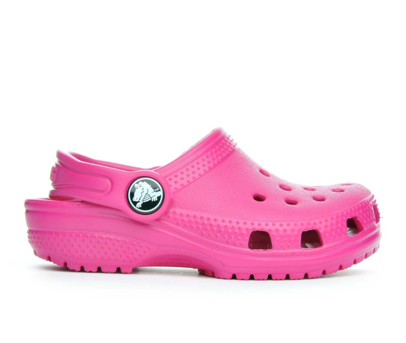 Girls' Crocs Infant Classic Clog Children's Shoes (Pink)