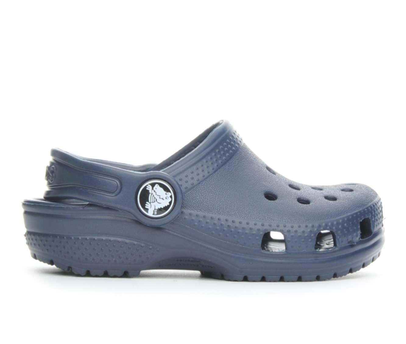 Girls' Crocs Infant Classic Clog Children's Shoes (Blue)