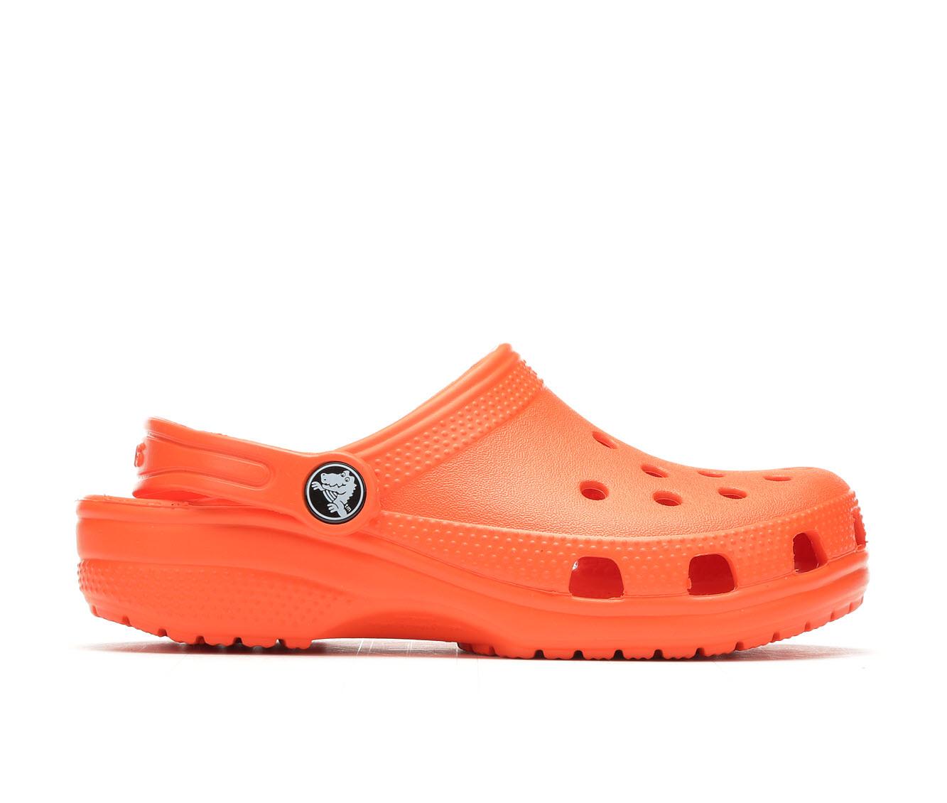 Girls' Crocs Infant Classic Clog Children's Shoes (Orange)